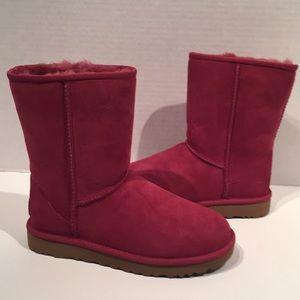 UGG Classic II Short Garnet Water Resistant Boots